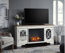 Realyn - Chipped White 2 Piece Entertainment Set