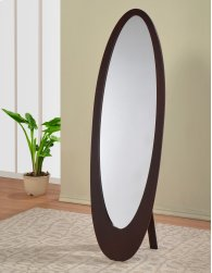 !nspire Infinity Ii Cheval Mirror In Cappuccino