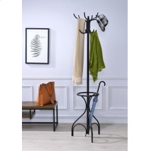 BLACK COAT RACK