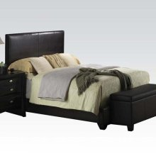 IRELAND BROWN QUEEN BED