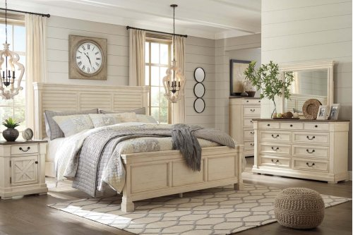 Bolanburg - Antique White 2 Piece Bedroom Set