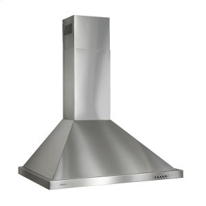 BroanBroan® 30-Inch European Style Wall-Mount Chimney Range Hood, 450 CFM, Stainless Steel