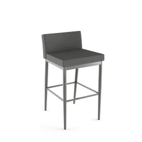 Hanson Plus Non Swivel Stool With Quilted Fabric