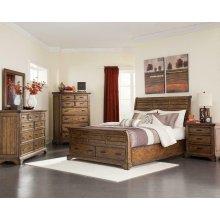 Elk Grove Rustic Vintage Bourbon California Bed