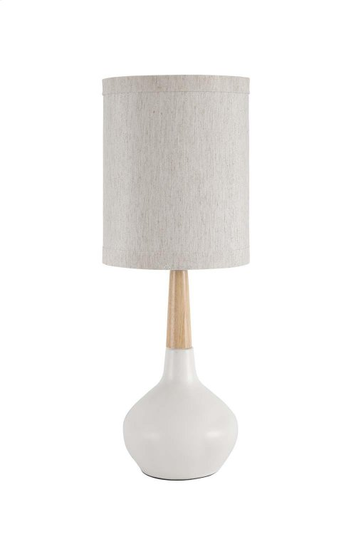 L117924  Ceramic Table Lamp (2/CN)