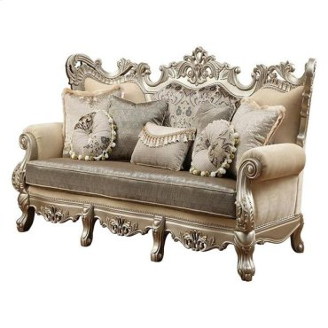 RANITA SOFA W/7 PILLOWS