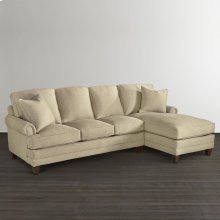 Custom Upholstery Small Right Chaise Sectional