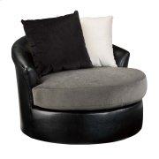 Ashley Furniture Logo Swivel Accent Chair