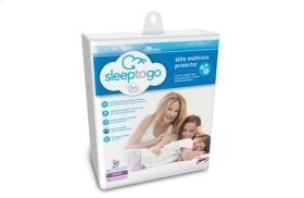 Sleep to Go by Serta Elite Mattress Protector - Twin