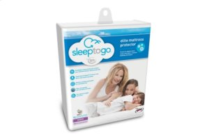 Sleep to Go by Serta Elite Mattress Protector - King