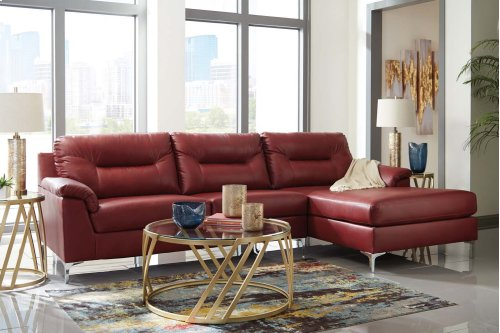 Tensas - Crimson 2 Piece Sectional