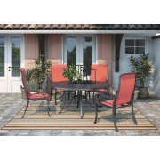 Apple Town - Burnt Orange 3 Piece Patio Set Product Image
