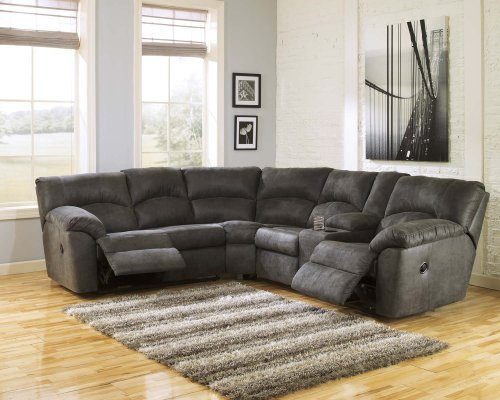 Tambo - Pewter 2 Piece Sectional