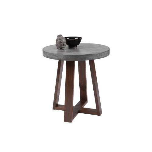 Devons End Table - Grey