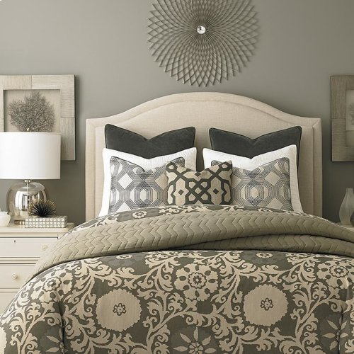 Custom Uph Beds Florence Clipped Corner Twin Headboard