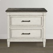 Bella Stone Top Nightstand Product Image