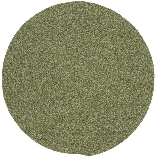 Heathered Sage Green Braided Rugs (Custom)