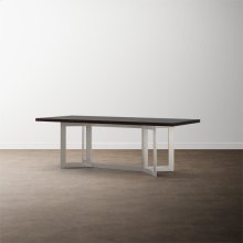 """MODERN with Bench*Made 108"""" Oak Astor Table"""