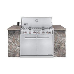 WeberSUMMIT® S-660™ LP GAS GRILL - STAINLESS STEEL