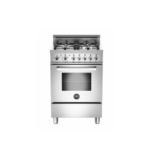 Bertazzoni24 inch All Gas Range, 4 Burners Stainless