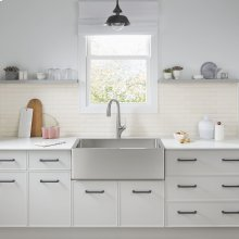 Avery 36 x 20 Single Bowl Apron Kitchen Sink  American Standard - Stainless Steel