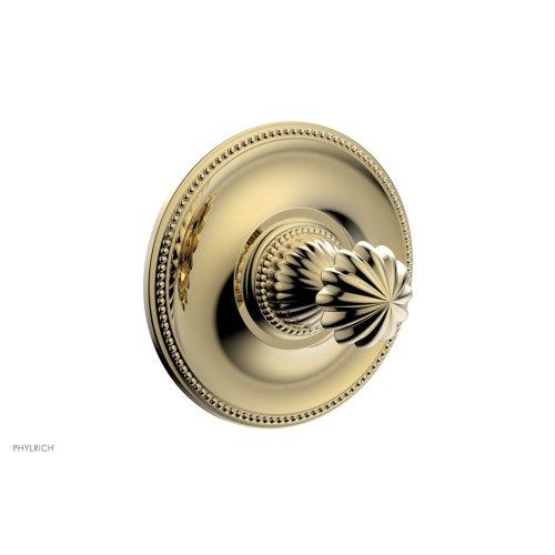 GEORGIAN & BARCELONA Pressure Balance Shower Plate & Handle Trim PB3361TO - Polished Brass Uncoated