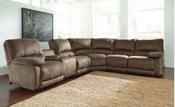 Seamus - Taupe 4 Piece Sectional