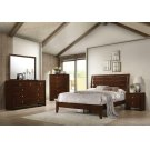 Serenity Rich Merlot Queen Five-piece Bedroom Set Product Image