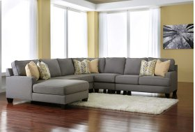 Chamberly 5 Pc RAF Sectional w/LAF Chaise