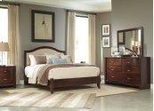 Corraya - Medium Brown 2 Piece Bed Set (Queen)