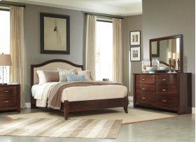 Corraya - Medium Brown 2 Piece Bed Set (Queen)
