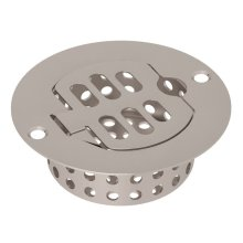 Satin Nickel Replacement Drain With Easy Clean Compartment