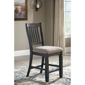 Ashley Furniture Tyler Creek - Black/gray Set Of 2 Dining Room Barstools
