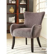 Traditional Grey Accent Chair