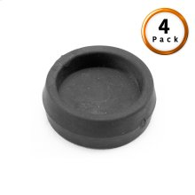Rubber Caster Cups (Large) for Adjustable Bases and Bed Frames, 4-Pack