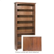 "GAC 84""H x 36""W McKenzie Alder Bookcase w/doors Product Image"