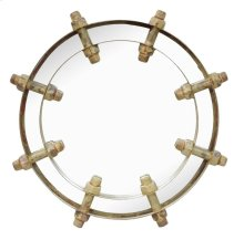 Zaria Round Mirror