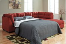 Maier LAF Sectional Sleeper Sofa w/RAF Chaise - Sienna Collection