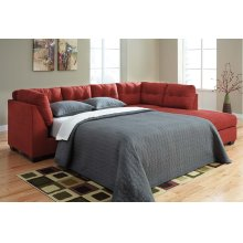 Sienna Sleeper Sectional Right