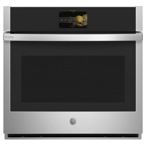 "GE ProfileGE Profile™ 30"" Smart Built-In Convection Single Wall Oven with No Preheat Air Fry and Precision Cooking"