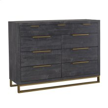 Vogue 9Dwr Dresser Black