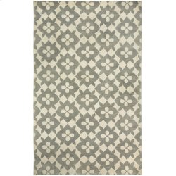 Coco's Flower Gray Hand Knotted Rugs