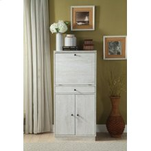 ANTIQUE WHITE WINE CABINET