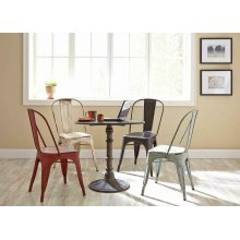 Keller Rustic Black Dining Chair
