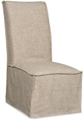 Dining Room Zuma Linen Armless Dining Chair
