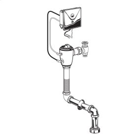 Selectronic Concealed Toilet Flush Valve for Top Spud Bowls  American Standard - No Finish
