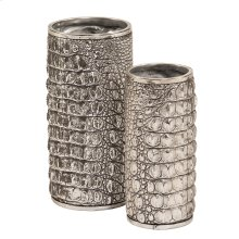 Crocodile Texture Vase Set