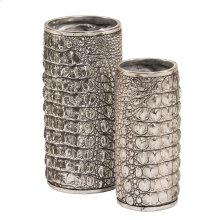Crocodile Texture Vase Set