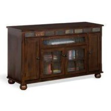 """Oxford 62"""" Counter Height TV Console"""