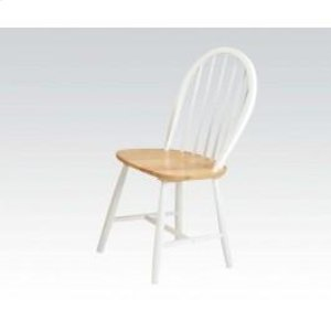 "36""h Nat/wh Windsor Chair"